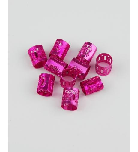 Obrączki Różowe - Metalowe...