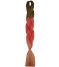 S3-116 Mleczna Czekolada - Mahoń - Dyniowy Róż - Włosy Syntetyczne Magfactory Henlon