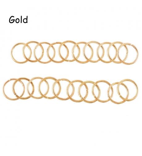 Kółeczka Złote - Metalowe...
