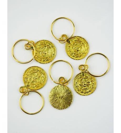 Monety Złote - Metalowe...