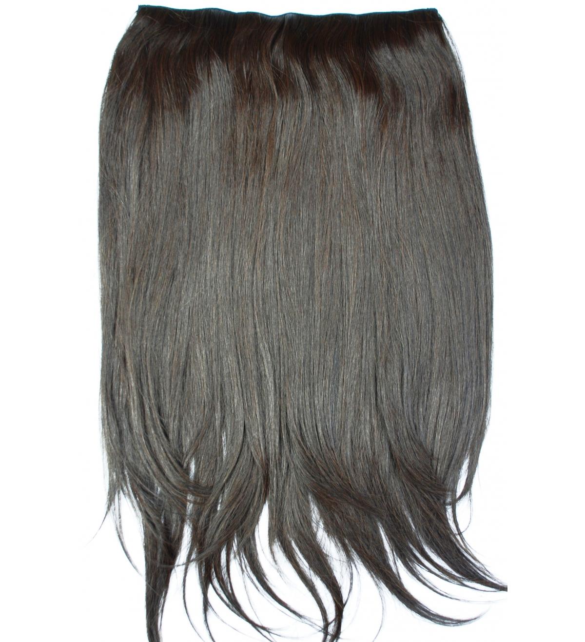 4 Brąz - CLIP-IN GLAM włosy proste 205gram