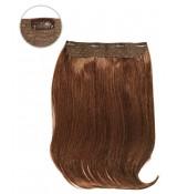 1 Czarne - CLIP-IN GLAM włosy proste 205gram