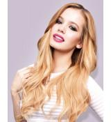 60 Platynowy Blond - CLIP-IN GLAM włosy falowane 320gram
