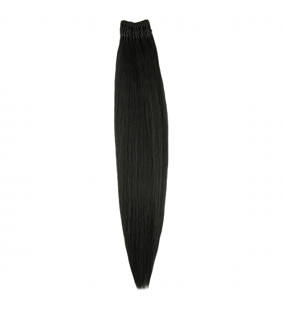 """2 Ciemny Brąz """"DIVA Loop"""" - Włosy Proste Syntetyczne Ubran"""