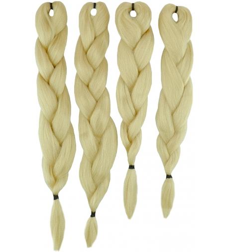 """613 Słoneczny Blond  """"Ultra Braid Pre -Stretched """"- X-Pression"""