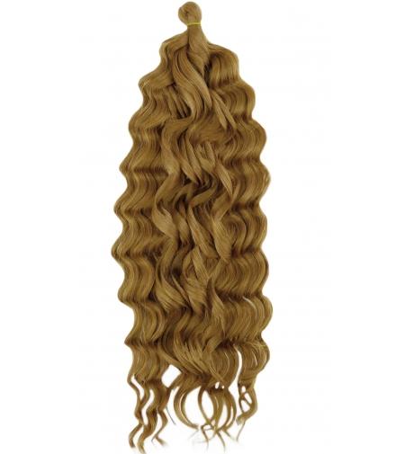 """27 Miodowy Blond  """"LOKOWANA Fala"""" - Loczki Syntetyczne Cherish"""