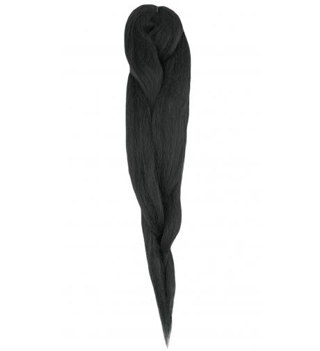 """1 Czarny """" Afrelle Silky Pre Stretched"""" - Włosy Syntetyczne Rast A Fri"""