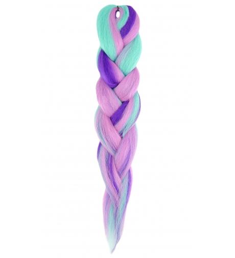 """Mix F.Purple Fantasy """"Afrelle Silky Pre Stretched"""" - Włosy Syntetyczne RastAfri"""