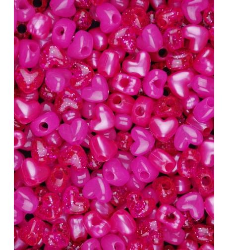 Mix Pink Serduszka -...