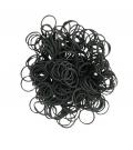 12 x Czarne - Gumki 250 Sztuk - 12 opakowań